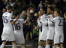 Tottenham Goal Celebration Royalty Free Stock Images