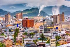 Tottori, Japan Skyline Royalty Free Stock Photos