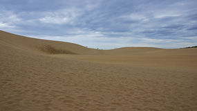 Tottori sand dunes in Japan Royalty Free Stock Image
