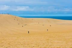 Tottori Sand Dunes in Tottori, Japan Stock Photo