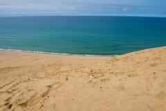 Tottori Sand Dunes in Tottori, Japan Royalty Free Stock Image