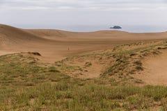 Tottori sanddyn arkivfoto
