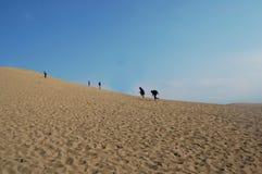 Tottori sanddyn, en välkänd scenisk fläck i Japan arkivfoto