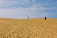 Tottori sanddyn i Tottori, Japan arkivfoto