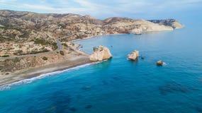Tou aereo Romiou, Pafo, Cipro di PETRA immagini stock