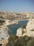 tou romio PETRA της Κύπρου Στοκ εικόνες με δικαίωμα ελεύθερης χρήσης