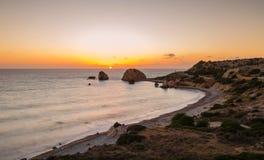 Tou Romiou, Πάφος, Κύπρος της Petra Στοκ εικόνες με δικαίωμα ελεύθερης χρήσης
