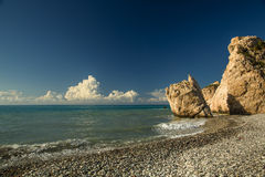 Tou Romiou της Petra. Κύπρος Στοκ Φωτογραφία
