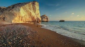 Tou Romiou, Chipre del Petra almacen de video