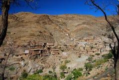 Touama, около n'Tichka Tizi. Марокко Стоковые Фото