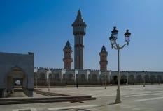 Touba Mosque, center Mouridism Cheikh Amadou Bamba burial place, Senegal Stock Photos