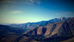 Toubkal montagne Arkivfoton