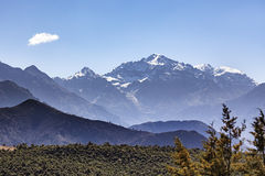 Toubkal mountain peaks, Atlas, Morocco Stock Photography