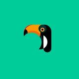 toucan的徽标 库存图片