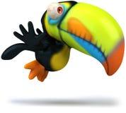 Toucan illustration de vecteur
