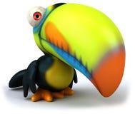 Toucan. Fun bird, 3d generated picture Stock Image