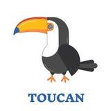 Toucan Bird Icon Stock Photos