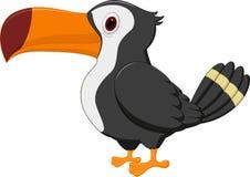 toucan fågeltecknad film royaltyfri illustrationer