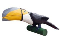 Toucan ha isolato su bianco Immagine Stock Libera da Diritti