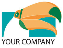 Toucan logo royalty free stock image