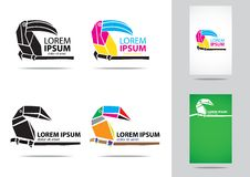 Toucan logo Royalty Free Stock Photography