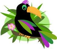 Toucan na selva Imagens de Stock Royalty Free