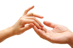 Touch... royalty free stock photography