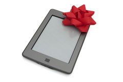 Touch e-reader Royalty Free Stock Image
