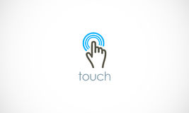 Touch logo Stock Images