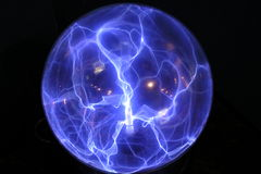 Touch Me. Plasma Ball, found on the South Island of New Zealand vector illustration