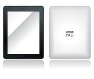 Touch pad. Fictitious touch pad without buttons with  name on it Stock Image