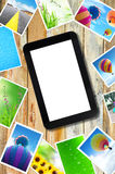 Touch pad stock photography