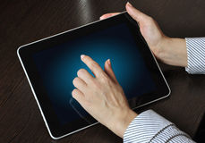 Touch pad Royalty Free Stock Photos
