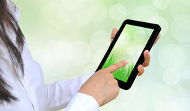 Touch pad stock illustration