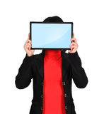 Touch pad with blank screen Royalty Free Stock Photo
