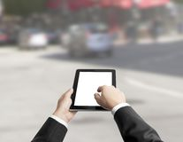 Touch pad Stock Images