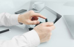 Touch pad Stock Photos