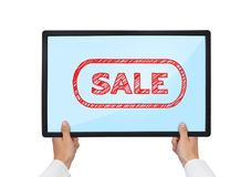 Touch pad with sale Stock Photo