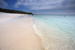 A touch of paradise at Jervis Bay Australia Royalty Free Stock Images