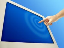 Touch screen Royalty Free Stock Photos