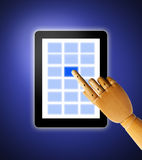 Touch Screen Royalty Free Stock Image
