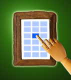 Touch screen Royalty Free Stock Images