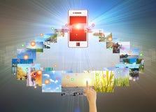 Touch Screen Stockbild