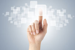 Free Touch Screen Royalty Free Stock Image - 44828336