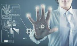 Touch screen Immagine Stock Libera da Diritti