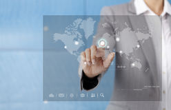 Touch Screen Royalty Free Stock Photo