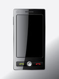 Touch screen cell phone design Royalty Free Stock Image