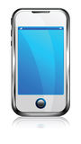 Touch Screen Cell Smart Phone Stock Image