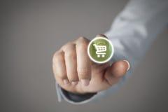 Touch screen concept Stock Photos
