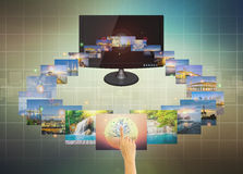 Touch screen Stock Images